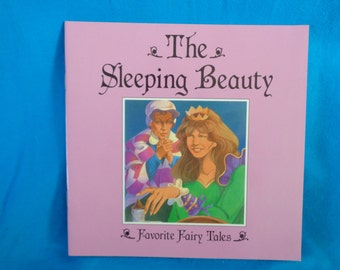vintage 1993 The Sleeping Beauty Favorite Fairy Tales book adapted by Jane Jerrard