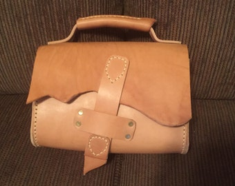 Leather satchel or tote
