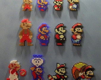 SUPER MARIO 30th ANNIVERSARY: 1985 - 1990 (Pixel Bead Art)