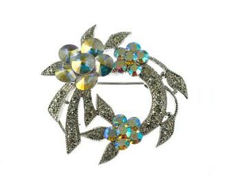 Bright Wreath Brooch