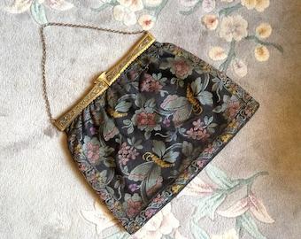 1920s Tapestry Handbag