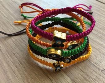 Friendship bracelets, evil eye bracelet, macrame bracelet, evil eye jewelry, evil eye mens bracelet, macrame jewelry, Valentine's day gift