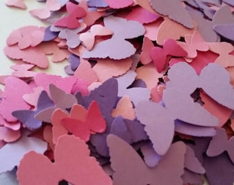 Pink Butterfly, Purple Butterfly Party Decorations,  Butterfly Confetti, Baby Shower, Spring, Easter, Birthday Party, Garden Party Confetti