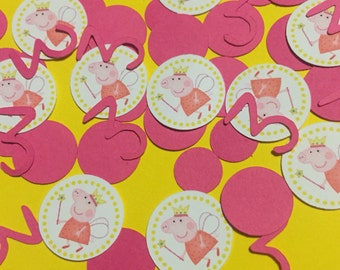 Peppa Pig Confetti • Table Birthday Party Decoration