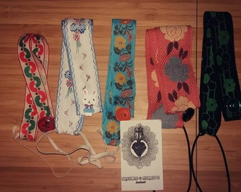 Handmade bookmark vintage materials. Handmade bookmarks