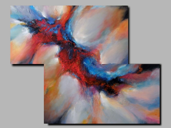 FREE SHIPPING, Original abstract oil painting,XLarge wall art canvas,Modern Art Abstract Painting,  Contemporary Modern painting on Canvas,