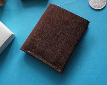 Minimal Leather Billfold Wallet