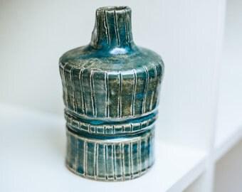 Hand Made Ceramic Jug - Blue/Green