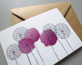 ALLIUMS Card
