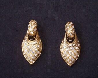 Vintage Glamour Drop Earrings