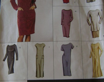 OUT of PRINT Vogue Pattern 2502 Misses'  Dress, Top & Skirt
