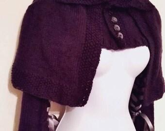 Victorian inspired shrug