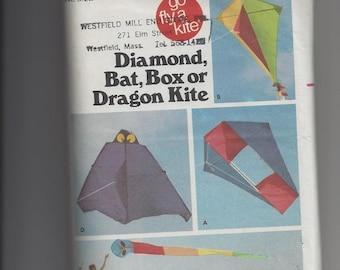 Butterick Kite Pattern #6111 4 style kites