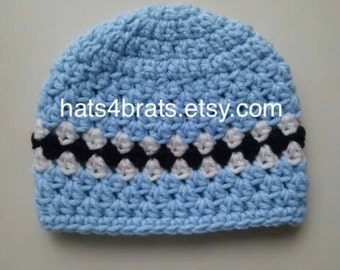 Baby Crochet Hat, Baby Boy Hat, Baby Hat, Newborn Hat, Infant Hat, Newborn Crochet Hat, Boys Crochet Hat, Boys Hat, Newborn Photo Prop