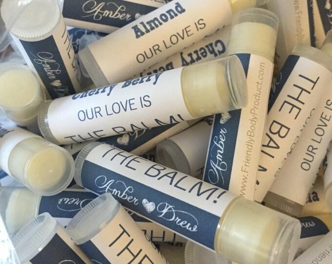 Custom Lip Balms - Beeswax Lip Balms - Low Minimum