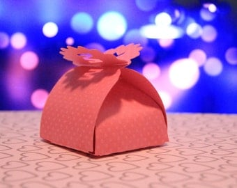 party favor boxes with your initials