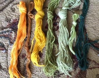 Vintage Yarn Bundle multicolor