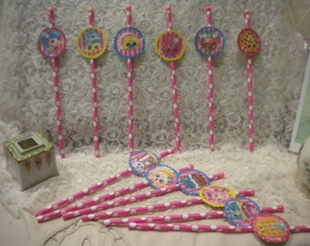 Shopkins Cup Cake Toppers (12)
