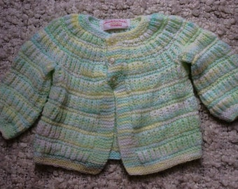 Knitted baby sweater / crochet baby sweater / baby clothes / knitted baby clothes/ crochet baby clothes