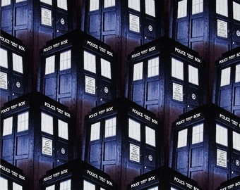 1 Yard Dr Who Fabric /  Fabric By The Yard