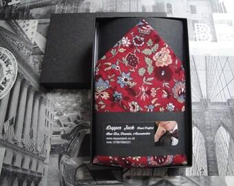 "Pocket square, pocket handkerchief, handkerchief, 12"" by 12"" square"