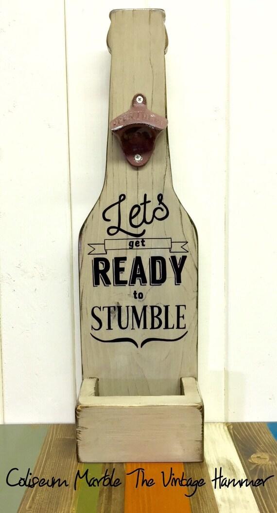 Wood Bottle Openers Wood Sign Sayings Bottle By