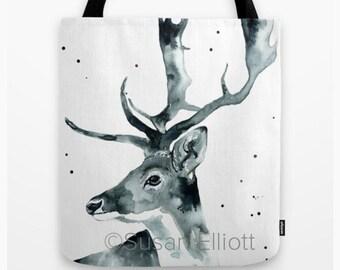 Mr. Antlers Tote Bag
