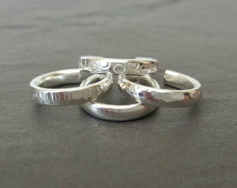 Sterling silver Toe ring (one)