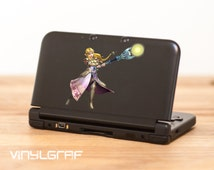 Princess Zelda Legend of Zelda decal sticker for nintendo 3ds xl, iPhone, iPad, macbook ma352