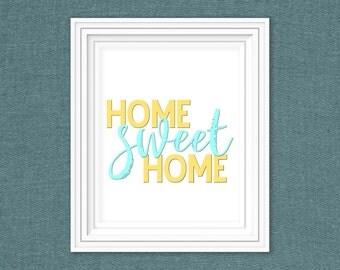 8x10 Home sweet home-Digital download