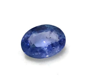 3.80 ct Ceylon Blue Sapphire Oval Cut Loose Gemstone Birthstone