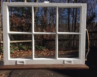 Rustic Window Shelf