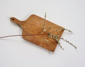 vintage wood cutting board
