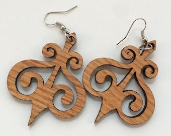 Arrowheart Earrings