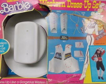 Western Barbie Childs Dress Up Outfit Set