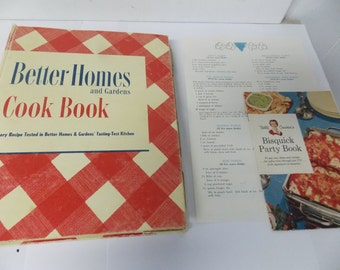 Better Homes and Gardens Cook Book 1951 22nd Printing Deluxe Editon