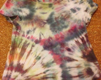 Unisex Up-cycled Tie Dye T-shirt, 12-18 months, Old Navy