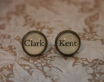 Clark ~ Kent Earrings ~ Superman ~ Lois Lane ~