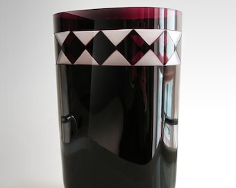 Murano glass vase - Carlo Moretti - Vintage