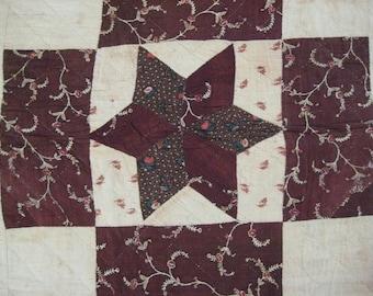Antique Pre-Civil War Quilt