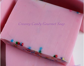 Creamy Candy Gourmet Soap