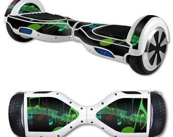 Skin Decal Wrap for Self Balancing Scooter Hoverboard unicycle Notes