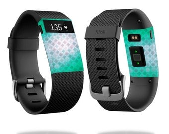 Skin Decal Wrap for Fitbit Blaze, Charge, Charge HR, Surge Watch cover sticker Green Dream