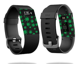 Skin Decal Wrap for Fitbit Blaze, Charge, Charge HR, Surge Watch cover sticker Marijuana