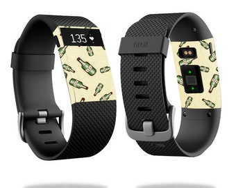 Skin Decal Wrap for Fitbit Blaze, Charge, Charge HR, Surge Watch cover sticker Whiskey