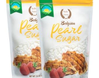 Waffle Pantry® Belgian Pearl Sugar, 16 oz (2 Pack)