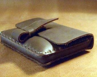 CSherwoodLeather Multi Purpose Case, Small Rustic Digital Camera Case, Coin Credit Card Wallet, Small Clutch, Leather Belt Pouch, Cigarette