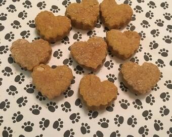 Pumpkin peanut butter biscuits