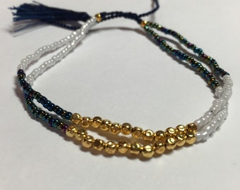 Boho Beaded Friendship Bracelet