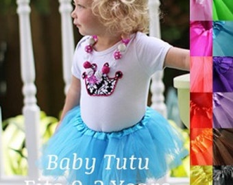 Baby Tutu ages 0-2 years Many colors